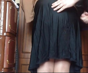 Cum  mi mamá falda
